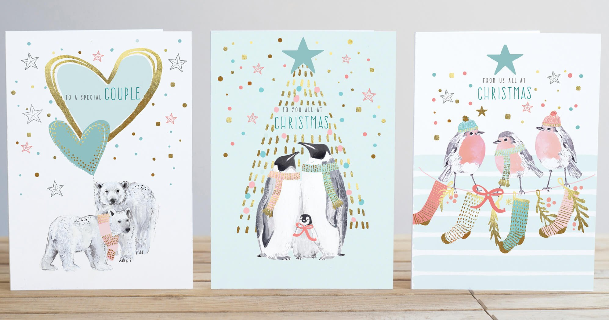 Christmas Animals Range