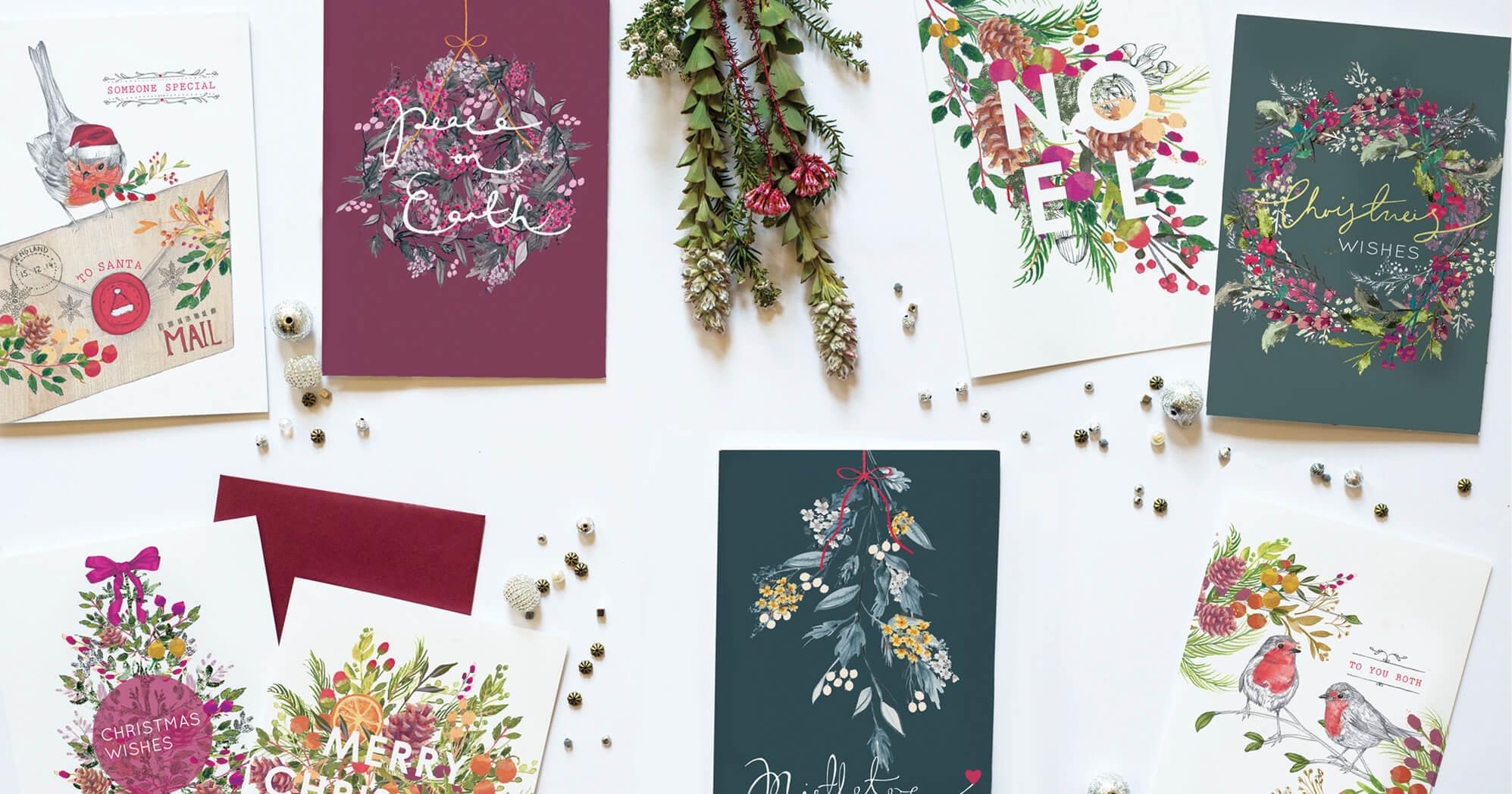 Christmas Florals Range