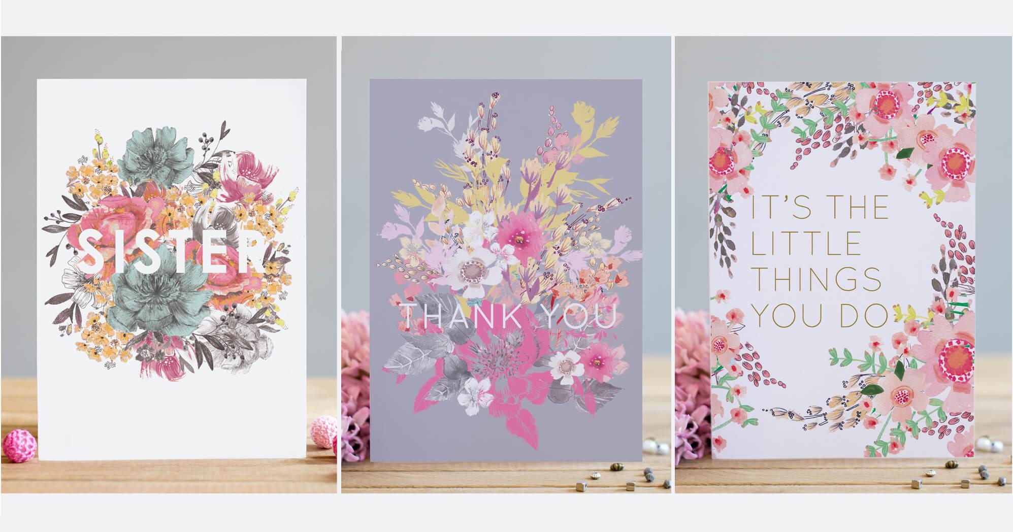 Floral Text Range