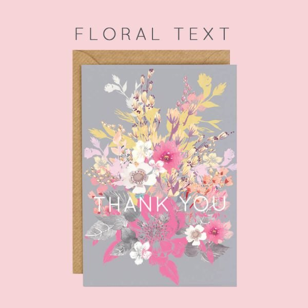 Floral Text