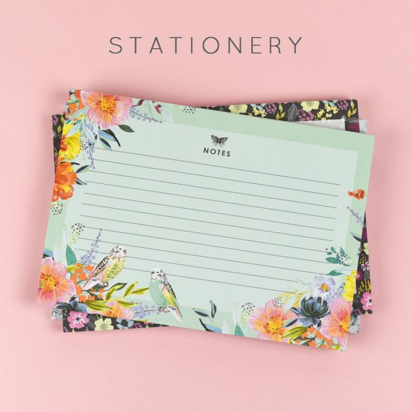STATIONERY button