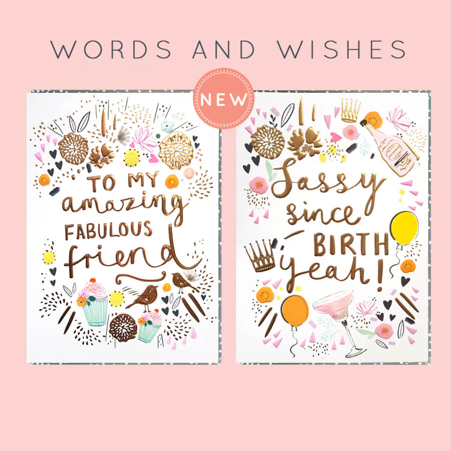 Words and Wishes Tile