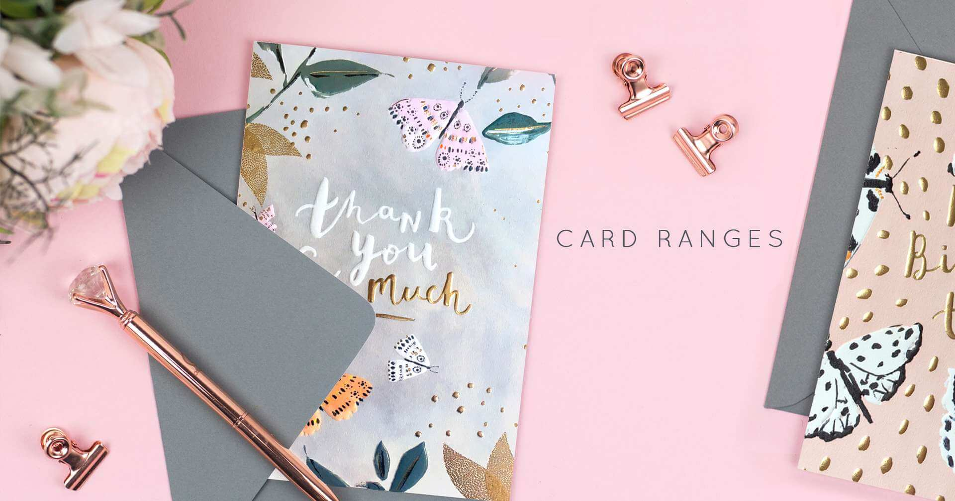 CARD RANGES header